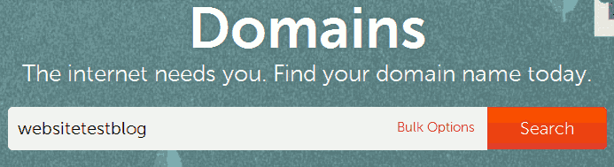Search domain availability with namecheap.