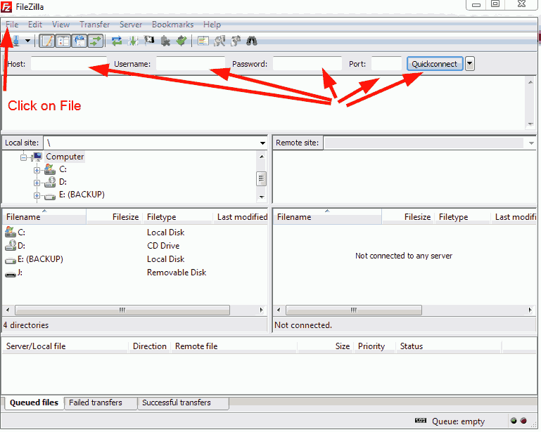 How to Set Up and Use SFTP with HostGator