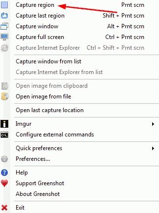 Free Software Tool to Capture Screenshots