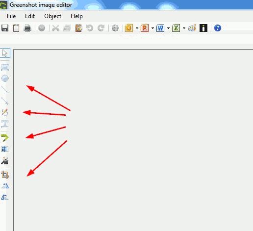 Greenshot image editor.
